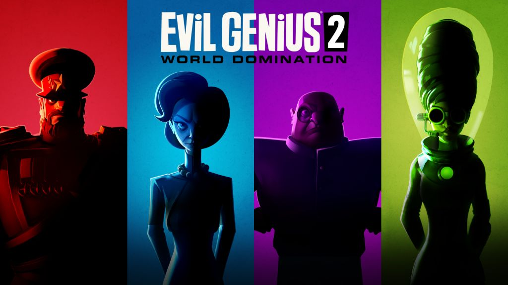 今天推出網誌。來年推出 Evil Genius 2: World Domination!