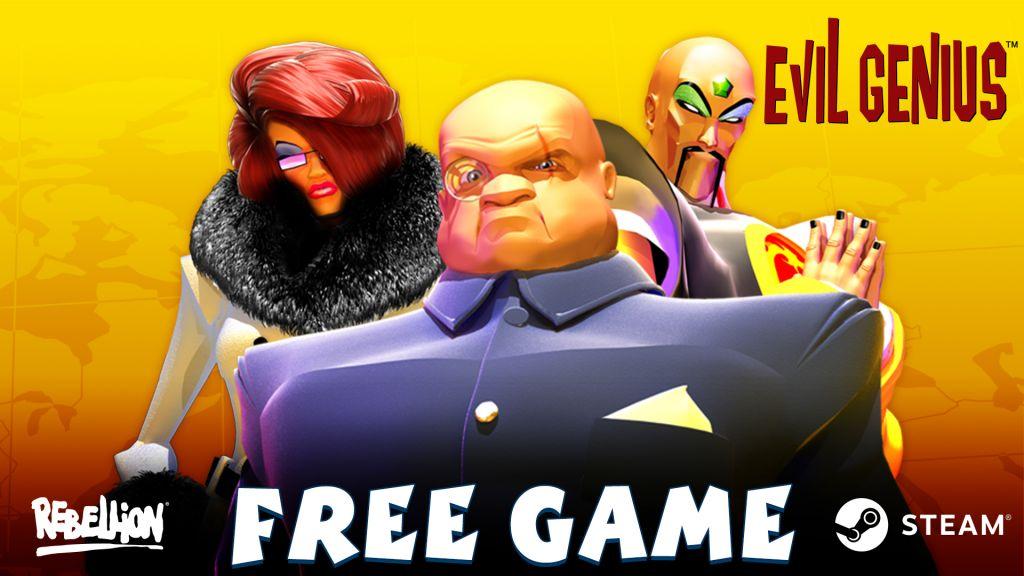 Acquire Evil Genius – Free!
