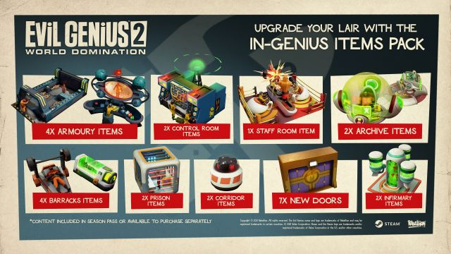 Out Today: Patch V1.4.0 And The In-Genius Items Pack!